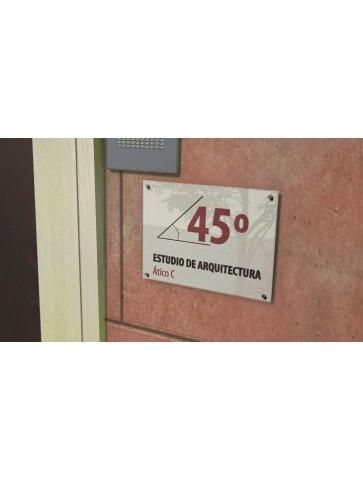 METACRILATO 50 X 40 CM...