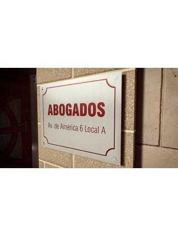PLACA DE ACERO 40 X 30 CM...